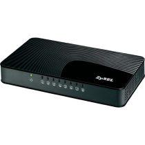 ZyXEL GS108Sv2 8port Gigabit LAN, nem menedzselhető, asztali média switch