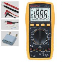 Maxwell 25306 digitális multiméter Induktivitás méréssel