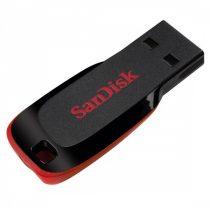 Sandisk 128GB USB2.0 Cruzer Blade Fekete-Piros (124043) Flash Drive