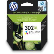 HP F6U67AE (302XL) háromszínű tintapatron
