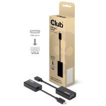 CLUB3D USB 3.1 C - D-SUB Active Adapter
