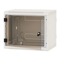 """Triton 19"""" 6U 400mm mély fali rack szekrény"""