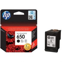 HP Patron No 650 fekete tintapatron Ink Advantage