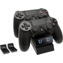Venom VS2732 PS4 fekete dupla töltőállomás