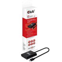 CLUB3D SenseVision MST USB 3.1 C - DisplayPort 1.2 HUB