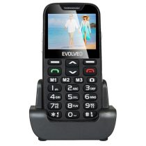 "Evolveo Easyphone XD EP-600 2,3"" fekete mobiltelefon"