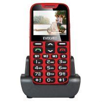 "Evolveo Easyphone XD EP-600 2,3"" piros mobiltelefon"
