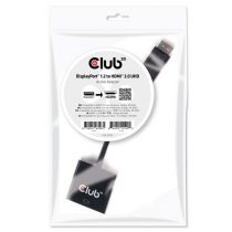 CLUB3D Displayport 1.2 - HDMI 2.0 UHD active adapter