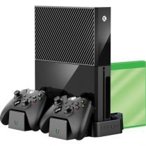 Venom VS2861 Xbox One X és S vertikális tartó + töltő állvány