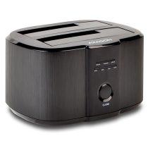 Axagon ADSA-ST USB 3.0 SATA fekete dual dokkoló állomás
