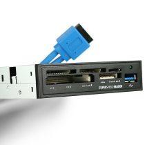 Axagon CRI-S3 USB 3.0 SD/microSD/MS/CF/XD belső kártyaolvasó