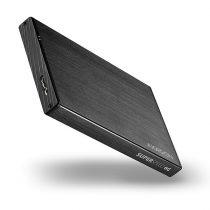 Axagon EE25-XA6 USB 3.0 fekete külső alumínium HDD/SSD ház