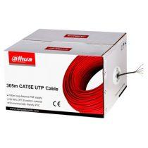 Dahua PFM920I-5EUN 305m, réz, PVC, árnyékolatlan, 4x2xAWG24 Cat.5E (U/UTP) fali kábel