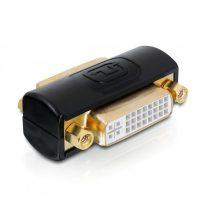 Delock 65225 DVI 24+5 tűs anya / anya adapter
