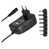 Emos N3111 univerzális 1000mA hálózati adapter USB aljzattal