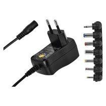 Emos N3110 univerzális 600mA hálózati adapter USB aljzattal