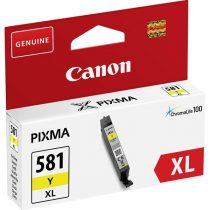 Canon CLI-581 sárga XL tintapatron