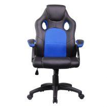 Iris GCH102BK fekete / kék gamer szék