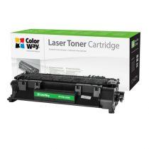 COLORWAY Standard Toner CW-H505/280MX, 6900 oldal, Fekete - HP CE505X (05X)/CF280X (80X); Can. 719H