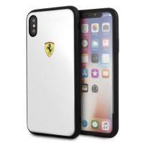 Ferrari On-Track iPhone X fehér logós akril tok