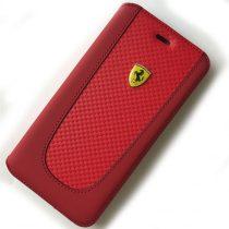 Ferrari SF Pit Stop iPhone 7 Plus kinyitható piros tok