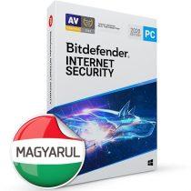 Bitdefender Internet Security HUN  3 Eszköz 1 év dobozos vírusirtó szoftver
