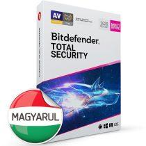 Bitdefender Total Security HUN  5 Eszköz 1 év dobozos vírusirtó szoftver