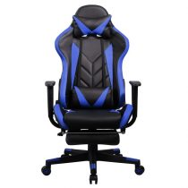 Iris GCH200BK fekete / kék gamer szék