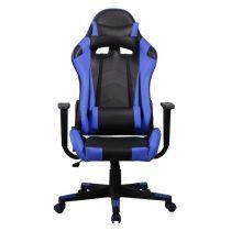 Iris GCH201BK fekete / kék gamer szék