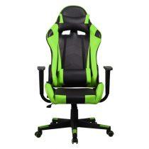Iris GCH201BE fekete / zöld gamer szék