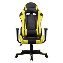 Iris GCH201BC fekete / citromsárga gamer szék