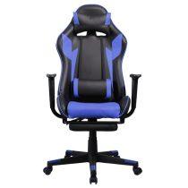 Iris GCH204BK_FT fekete / kék gamer szék