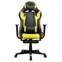 Iris GCH204BC_FT fekete / citromsárga gamer szék
