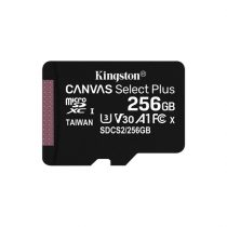 Kingston 256GB SD micro Canvas Select Plus (SDXC Class 10 A1) (SDCS2/256GBSP) memória kártya