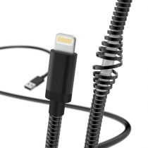 Hama 183339 Metál 1,5m Lightning > USB-A fekete adatkábel