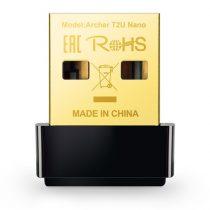 TP-Link Archer T2U Nano AC600 Dual-Band Vezeték nélküli USB adapter