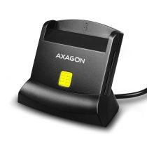 Axagon CRE-SM2 USB 2.0 Smart / ID / SD / MicroSD / SIM kártyaolvasó