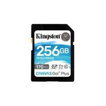 Kingston 256GB SD Canvas Go Plus (SDXC Class 10 UHS-I U3) (SDG3/256GB) memória kártya