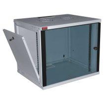 """Lande LN-EUBOX12U5445-LG-1 EURObox 19"""" 12U 540x450 szürke fali rack szekrény"""