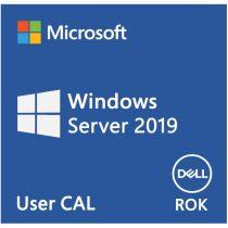 DELL EMC szerver SW - ROK Windows Server 2019 ENG, 5 User CAL.