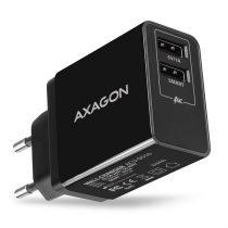 Axagon ACU-DS16 2.2A + 1A fekete fali töltő
