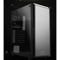 ZALMAN Ház Midi ATX S4 Tápegység nélkül, Fekete