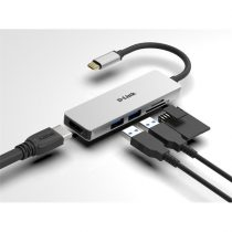 D-LINK USB-C HUB 2xUSB + 1xHDMI + 1xSD + 1xMicroSD, DUB-M530