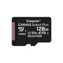 KINGSTON Memóriakártya MicroSDXC 128GB Canvas Select Plus 100R A1 C10 Adapter nélkül