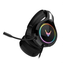 OMEGA sztereó gaming fejhallgató, VARR VH-6060, zajszűrés, LED,  fekete