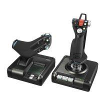 LOGITECH Játékvezérlő - X52 Professional Botkormány és Gázkar PC-hez