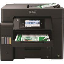 EPSON Tintasugaras nyomtató - EcoTank L6550 (A4, MFP, színes, 4800x2400 DPI, 32 lap/perc, USB/LAN/Wifi)