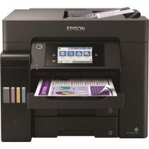 EPSON Tintasugaras nyomtató - EcoTank L6570 (A4, MFP, színes, 4800x2400 DPI, 32 lap/perc, USB/LAN/Wifi)