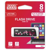 GOODRAM Pendrive 8GB, UCL3 USB 3.0, Fekete