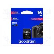 GOODRAM Memóriakártya SDHC 16GB CL10 UHS-I U1